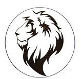Dessous de verre lion (modèle 19 )