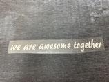 Plot 'awesome weiß'