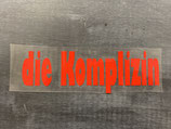Plot 'die Komplizin' in rot • positiv