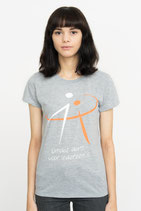 "ReDiscoverMe T-Shirt ""Ladies"" ""Grey"""