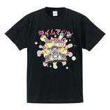 タイムマシンTshirt クロ
