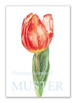 Kunstkarte Tulpe Artikelnr. sb107