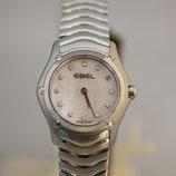 Ebel Classic Damenuhr Diamanten Pink Perlmutt 23mm