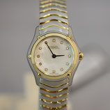 Ebel Classic Wave Lady Perlmutt Diamanten 23,5mm