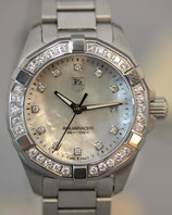 TAG Heuer Aquaracer Lady Quarz 27 Mother of Pearl Dial Full Diamond