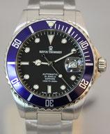 Revue Thommen XL Diver Automatik Blau 42mm