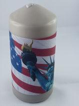 """Zylinder Mittel Braun """"America"""""""