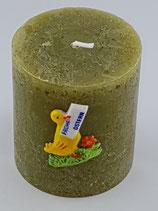 """Zylinder Klein Oliv """"Frohe Ostern Ente"""""""