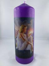 "Zylinder Gross Violett ""Engel 1"""