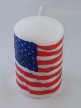 """Zylinder Klein Weiss """"Flagge"""""""