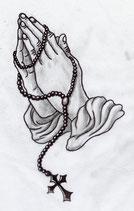 Betende Hände 7