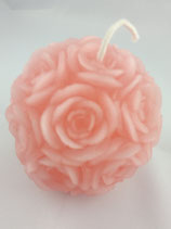 Rosenkugel Rosa