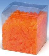 Wachswürfel Orange