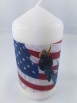 """Zylinder Klein Weiss """"America"""""""