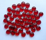 Muggelsteine Rot Transparent
