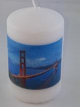 """Zylinder Klein Weiss """"Golden Gate Bridge"""""""