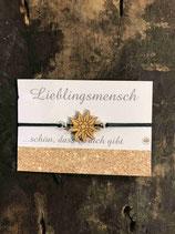 "Armband ""Holz Edelweiß"" 0034 - Schmuck"