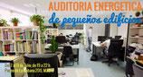 Reserva de Plaza para el Curso Presencial de Auditorías Energéticas para pequeños edificios: viviendas, PYMES, comercios, talleres, etc.