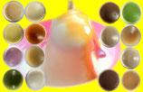 和らびプリン・ゼリーの定番6種類2個ずつの詰め合わせです。
