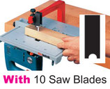 A02-2 Jigsaw Table + 10 Saw Blades shaft type Black+Decker