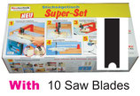 A01-2 Super-Set with 10 Saw Blades type Black+Decker