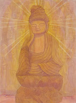 Affection love-Enku Buddha