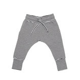 Slim fit jogger B/W striped