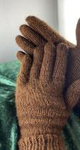 Fingerhandschuhe aus Alpakawolle