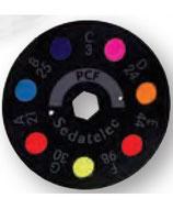 Disco PCF para ELD (programa color frecuencial Nogier)