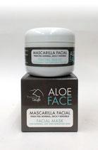 Mascarilla Facial Piel Normal, Seca y Sensible (Estrella de mar + Agua Termal) 100 ml.