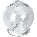 Ventosa de cristal. Diámetro 4,5cm