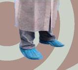 Cubrezapatos plástico. COLOR AZUL