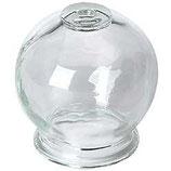 Ventosa de cristal. Diámetro 6,5cm