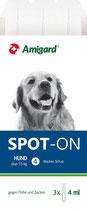 Amigard Spot-on für mittlere bis große Hunde über 15 kg