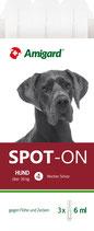 Amigard Spot-on für sehr große Hunde über 30 kg