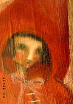 Cappuccetto rosso-Cartolina