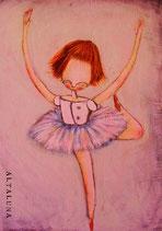 Nina ballerina-cartolina