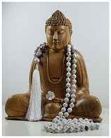 Howlith  Mala 8mm W