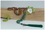 MALACHITE & SANDELHOLZ OM MALA 8 MM