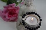 Armband black Buddha