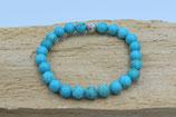Howlite Blue Türkis Stein Armband