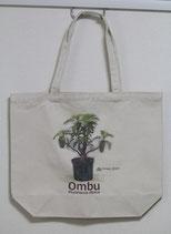 オンブー鉢植え 油絵風 トートバッグ