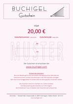 Gutschein für 20 €