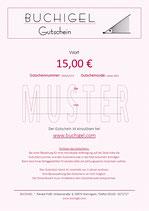 Gutschein für 15 €