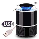 Zanzariera Elettrica USB a LED - Mod. Nero
