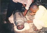 2002 Stromanschluss für Nkowe / Ndanda