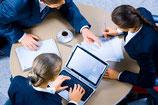 """,,Runder Tisch Gespräche"""" individuell oder klein Gruppen Sitzungen"""