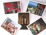 Cartes postales du Château Abbadia - Lot 1