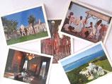 Cartes postales du Château Abbadia - Lot 3