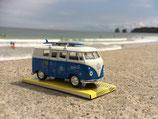 Van Volkswagen bleu miniature